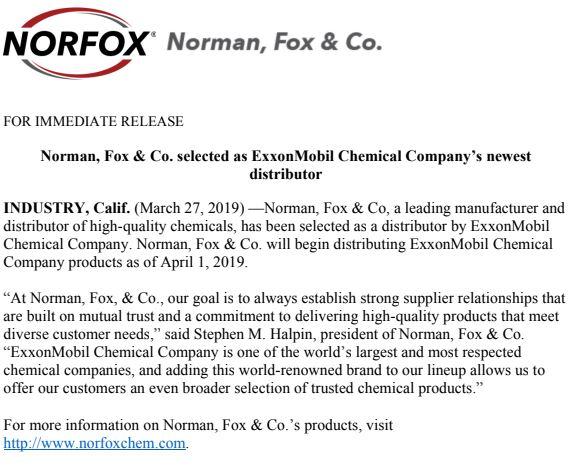 Norfox > Norfox News